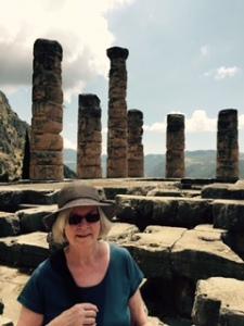 Delphi Temple of Apollo site of the oracle
