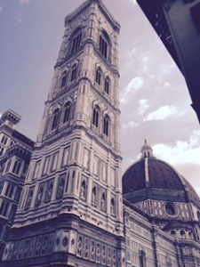 The Florence Duomo. The fourth largest church in Europe. amazing dome by Brunelleschi and beautiful marble and complexity