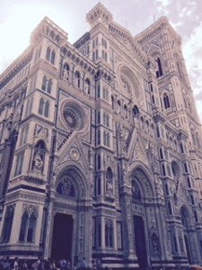 Florence Duomo  front of house!