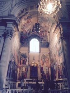 Brancacci Chapel with Massachio frescoes
