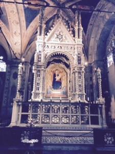 Orsanmichele church Florence altar