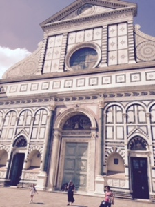 St Maria Novella Florence front of house