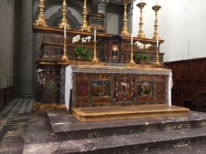 Florence 5 San Lorenz marbled altar