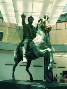 Marcus Aurelius in full flight. Not just an author of Meditations
