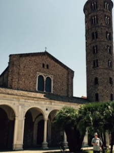 C6th St Appolonius in Ravenna ..a former Arian church but now more like a museum; impressive frescoes