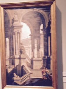 Accademia: Pietro Gaspuri architectural drawing