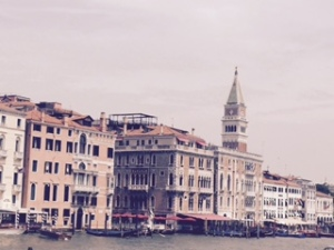 St Mark's Square from Veneto side of Grand Canal