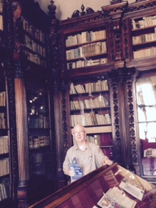 Correr Museum, part of the Baroque addition to the Doge's Palace. Amazing library of ancient texts; Richard very jealous indeed of these bookshelves..ikea they are not!