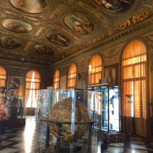 Correr Museum with more amazing painted ceilings plus the New Zealand biennale exhibition highlighting high tech