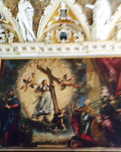 Venice Doge's Palace Tintoretto? Doge acknowledges Faith