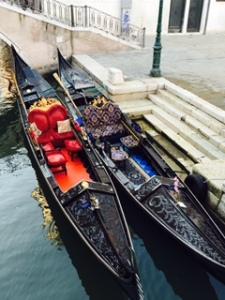 Gondola first class luxury in Venice