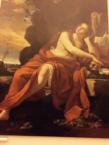Vote's painting of the Penitent Magdalene, in the Berberini Gallery Rome