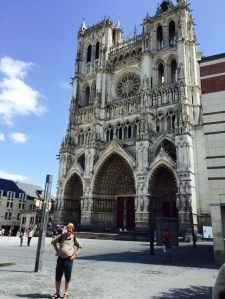 Amiens Cathedral front of house