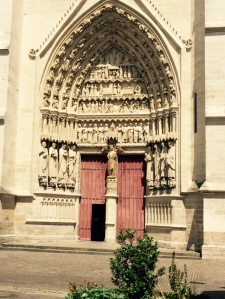 Amiens Cathedral Second entrance side