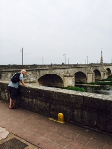 Bridge over the River Loire in Blois