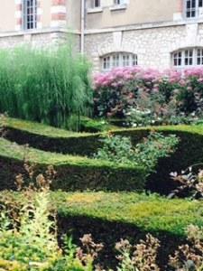 Blois civic garden