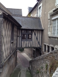 Gorgeous half-timbered house in Blois ..too many to photograph