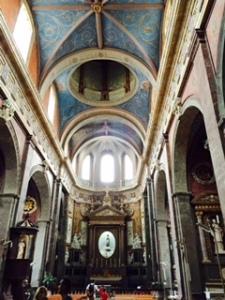 Blois Jesuit church interior ceiling