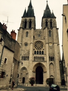 Very early Gothic church in Blois with virtually no restoration.  Original and pure Gothic