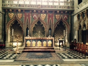 1298 Eastern Lady Chapel in Bristol Cathedral ..originally a memorial for the Berkeley family