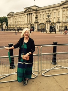 Ann finally makes it to Buckingham Palace, a childhood dream.