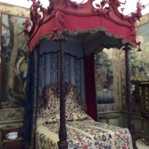 Burghley House yet another bedroom