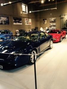 Two Ferraris