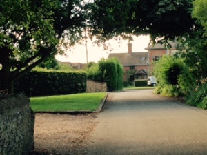 Village view of one of the fifteen houses in Frinsted..this used to be the pub but now a private home