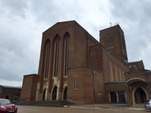 Guildford Cathedral West Front