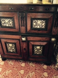 And a second Arts and Crafts cabinet