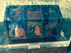 Jewel casket belonging to Jane Morris in Kelmscott Manor