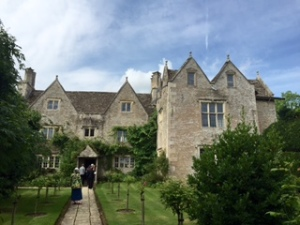 Kelmscott Manor a C16th manor house in Kelmscott Village in Gloucestershire leased by William Morris and bought by Jane Morris after William's death