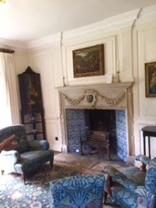 The White Room in Kelmscott Manor