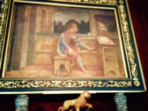 Foppa: Cicero as a child painting in the Wallace Collection Hertford House London