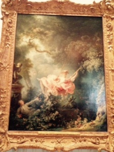 Fragonard: The Swing in the Wallace Collection, Hertford House London