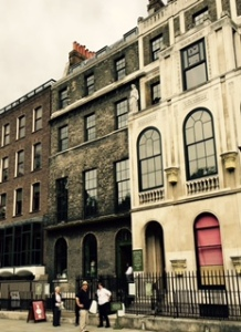 Sir John Soanes house near Lincoln Fields Inn in London. Eccentric and eclectic collection from an C18th super architect and teacher