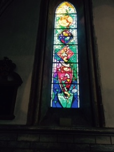 New window in Southwark Cathedral in honour of Queen Elizabeth 11's Diamond Jubilee