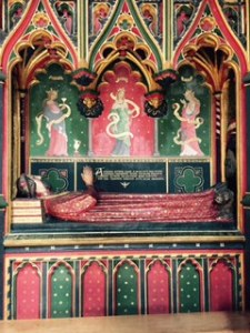 Tomb of John Carr, Poet Laureate to Richard !! and Henry !V in Soutwark Anglican Cathedral