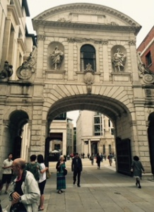 The Temple Bar ..the only original gate of old London Town which is still standing.