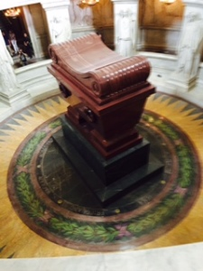 Napoleon's tomb in the Church of the Dome at the Hospital des Invalides Paris