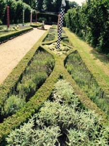Penshurst Place, the Heraldic Garden