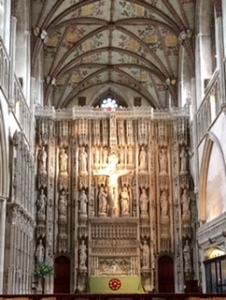 St Albans high altar on the