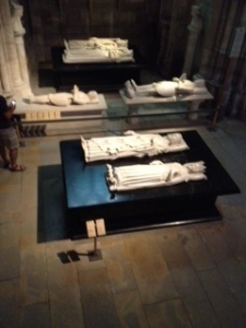 Various tombs of the kings and queens of France sleeping peacefully??
