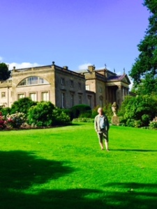 Stourhead House, the view from the garden
