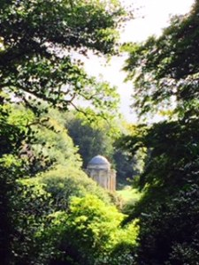 Stourhead House gardens another view of the Temple