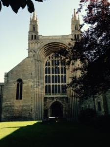 Tewksbury Abbey West face