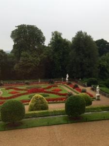 Waddesdon formal parterre garden