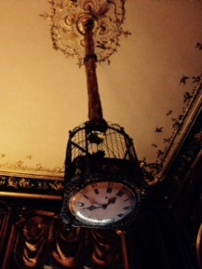 Waddesdon hanging clock