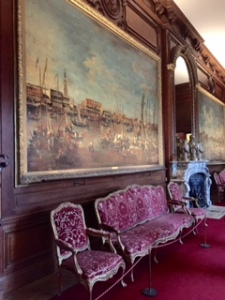 Waddesdon massive Venice paintings by Guardi