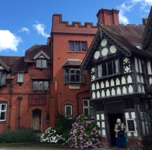 Wightwick Manor built in1894 and enlarged in 1892 A